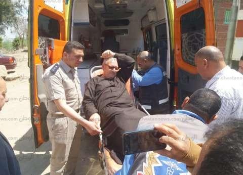 """""""رسالة واتساب"""".. """"شاروبيم"""" ينقل مواطن للجنة الاستفتاء بسيارة إسعاف"""