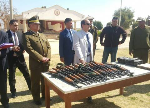 ضبط 9 أسلحة في حملة على تجار المخدرات بسوهاج