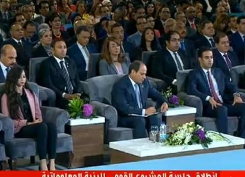 السيسي: ما حدث في 4 سنوات حافظ على مصر من الانزلاق لما يحدث بدول أخرى