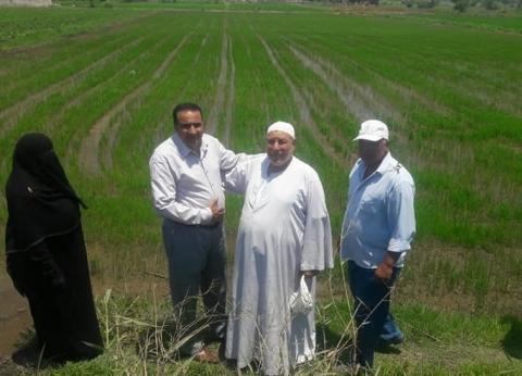 """وكيل """"زراعة دمياط"""" يبحث تسريع أعمال مراجعة استمارات مشروع كارت الفلاح"""
