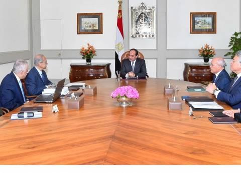 السيسي يناقش مع وزير التعليم إستراتيجية تطوير المنظومة