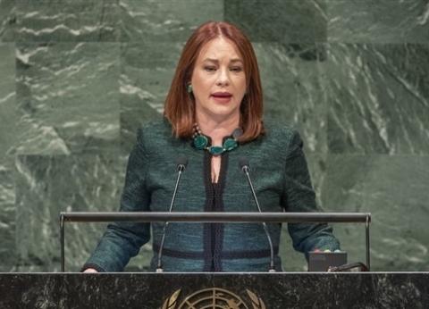 """من """"السيدة الرئيس"""" التي وجه لها السيسي حديثه في الأمم المتحدة؟"""