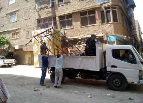 إزالة 37 حالة إشغال بشوارع وميادين مطروح
