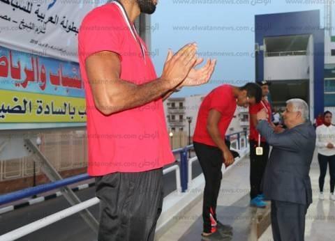 افتتاح البطولة العربية الـ14 للسباحة بالزعانف في شرم الشيخ