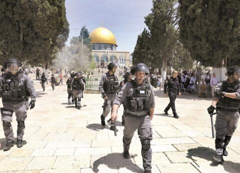 """الرئاسة الفلسطينية تحمل إسرائيل مسؤولية الاعتداء على """"الأقصى"""""""