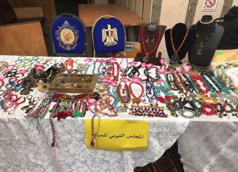 قومي المرأة بالإسماعيلية يطلق فعاليات المعرض الثاني للمشغولات اليدوية