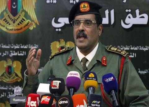 عاجل| المسماري: قوات الجيش تحقق تقدما ميدانيا ممتازا في طرابلس