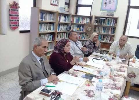 """وكيل """"تعليم الإسكندرية"""" تجتمع مع مجلس الآباء والأمناء"""