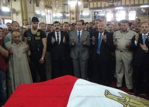 وصول جثمان شهيدين الهجوم الإرهابي بالعريش إلى كفر الشيخ