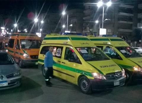 الجيش يؤمن سيارات الإسعاف لنقل جثامين شهداء كنيسة طنطا