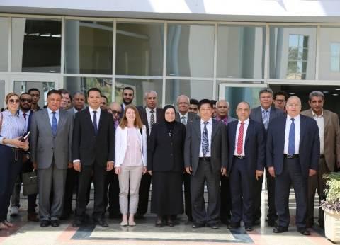 الجامعة المصرية - الصينية و«جياوتونج» توقعان أول بروتوكول علمى