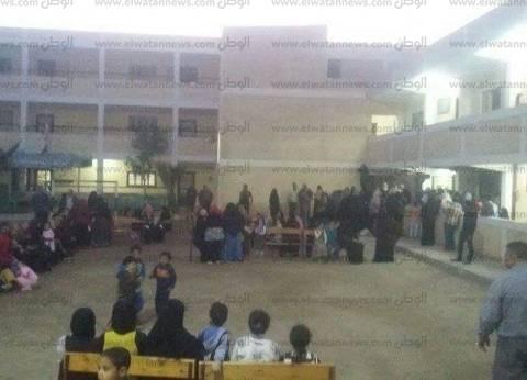 تزايد أعداد الناخبين على لجان أوسيم والعياط قبل غلق الصناديق