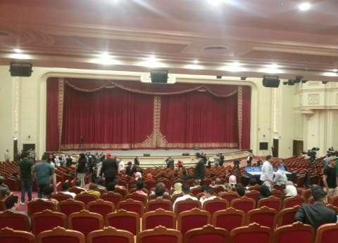 """بعد قليل.. انطلاق حفل إعلان """"القاهرة عاصمة الشباب العربي"""""""