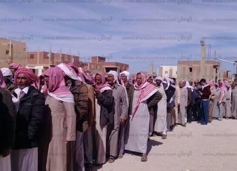 6050 ناخبا يدلون بأصواتهم في الانتخابات الرئاسية بجنوب سيناء