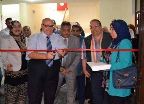 رئيس جامعة عين شمس يفتتح مهرجان الفنون التشكيلية بتربية نوعية