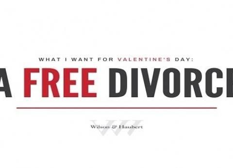 إجراءات الطلاق مجانا.. جائزة مسابقة لمكتب محاماة بمناسبة عيد الحب