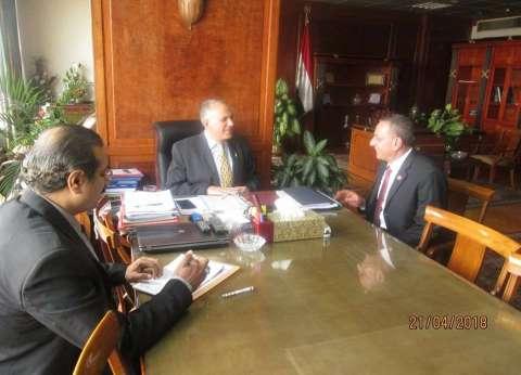 وزير الري يستقبل نائب بلبيس بالشرقية لبحث مشكلات الدائرة