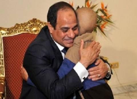 """""""رفيق السيسي"""" يطالب بالمشاركة في الانتخابات: """"نزلت علشان بابا السيسي"""""""