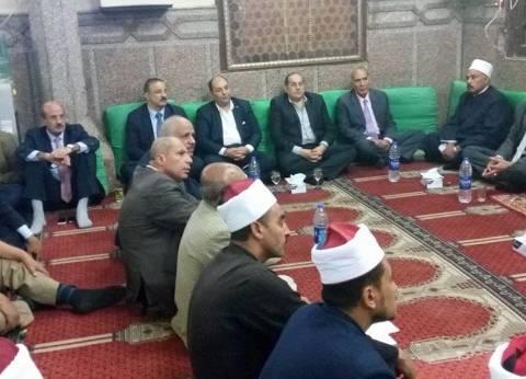 أوقاف سوهاج تحتفل بالعام الهجري الجديد بمسجد العارف بالله