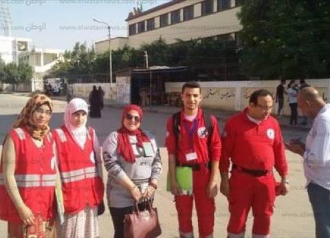 """""""الهلال الأحمر"""" بالإسماعيلية يتابع سير العملية الانتخابية في اليوم الثاني للاقتراع"""