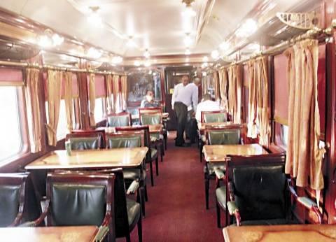 قطارات الـvip.. عربات مراقبة بالكاميرات و«بوفيه» فندقى و«WI-Fi»