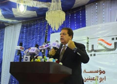 أبو العينين مهنئا السيسي بفوزه في الانتخابات: سنكمل معك بناء المستقبل