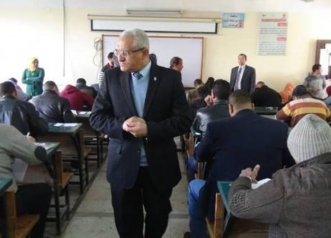 ضبط محامٍ يؤدي امتحان التعليم المفتوح بدلًا من صديقه في المنيا