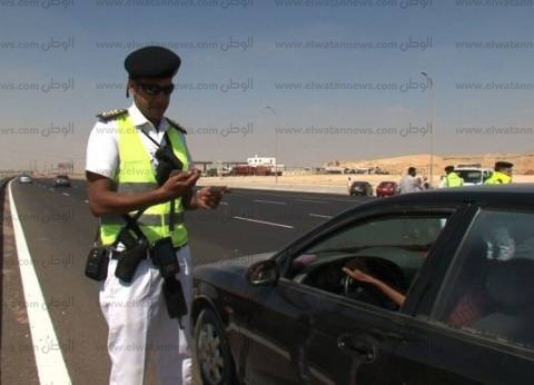 ضبط 34 مخالفة سير عكس الاتجاه خلال 24 ساعة بالقاهرة