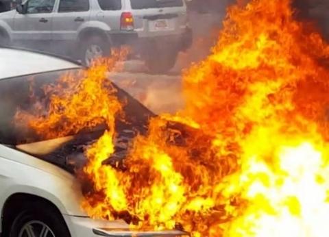"""سائق أنقذ قرية في الغربية من حريق وشيك: """"حاجة إلهية خلتني ألهمتني كدة"""""""