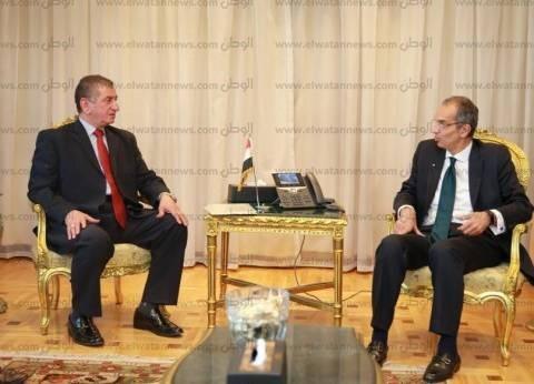 محافظ كفر الشيخ يبحث مع وزير الاتصالات ميكنة وتحسين الخدمات الحكومية