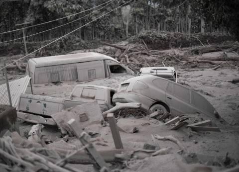 بالصور | ارتفاع حصيلة ضحايا ثوران البركان في جواتيمالا الى 62 قتيلا