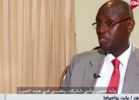 وزير الدفاع الأوغندي: زرت مشروعات الجيش المصري.. ومتقدمون بفارق كبير
