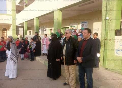 """وكيل """"تعليم الإسماعيلية"""" يشارك طلاب مدرسة 24 فعاليات """"القدس عربية"""""""