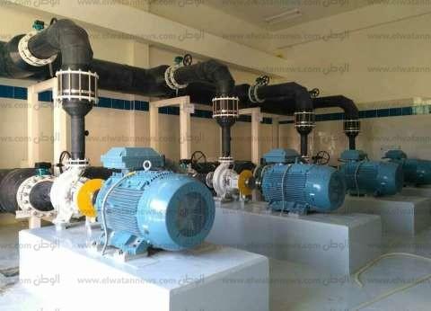 إقامة محطة لتحلية مياه البحر بمدينة رأس سدر