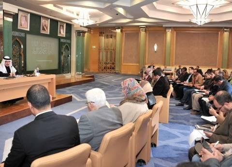 وزيرا العدل والتضامن الاجتماعي يستقبلان السفير السعودي لدى مصر