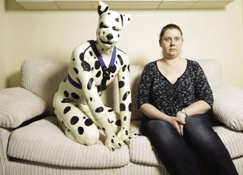 جربت تعيش حيوان.. طب جربت تلبس «كلب»؟