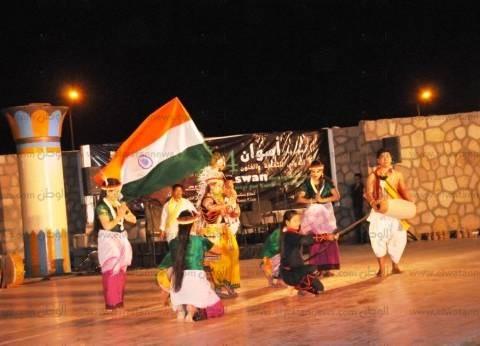 بحضور السفير الهندي.. افتتاح مهرجان أسوان الدولي الرابع للثقافة والفنون