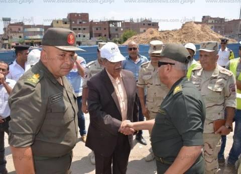 محافظ الإسماعيلية: افتتاح مشروع كوبري نفيشة الجديد في أعياد أكتوبر