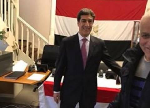 سفير مصر بالسعودية: الإقبال على التصويت بانتخابات الرئاسة غير مسبوق