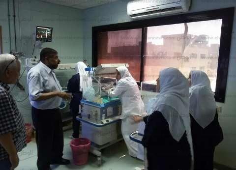 مدير الرعاية الحرجة بالشرقية يتفقد مستشفى ديرب نجم