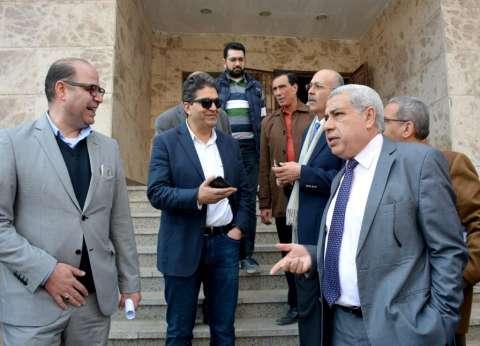 نائب رئيس جامعة طنطا يتفقد مستشفى الصدر الجديد استعدادا لافتتاحه