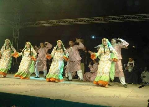 فرق الفنون الشعبية تشارك بمهرجان ألوان مصرية بأسوان