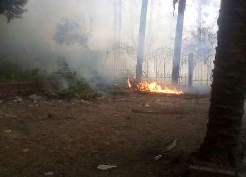 إخماد 3 حرائق في أسوان بسبب عاصفة ترابية