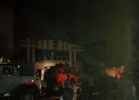 بالأسماء| 3 مصابين في حريق مصنع بدمياط الجديدة