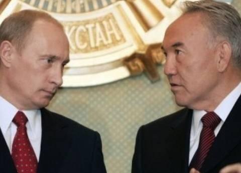 نزارباييف وبوتين يؤكدان على أهمية مؤتمر سوتشي في تسوية الأزمة السورية