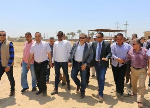 وزير البيئة يتفقد تطوير مقلب أبو خريطة في المنوفية