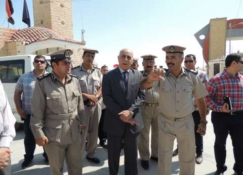 مدير أمن المنيا يتفقد مركز شرطة سمالوط الجديد وكمين الصفا