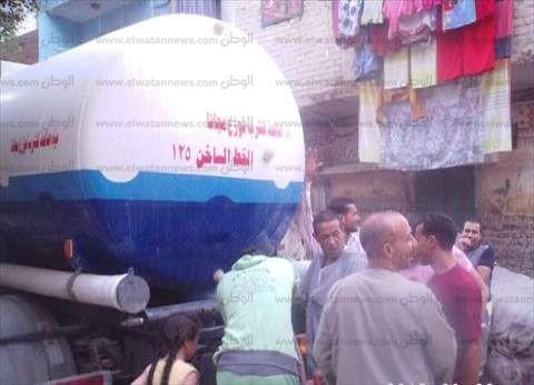"""انقطاع مياه الشرب في 3 مناطق بالإسكندرية بسبب كسر بـ""""خط طرد"""""""