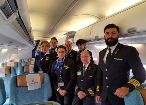 """""""مصر للطيران"""" تسمح للعاملين بها بالانصراف مبكرا للإدلاء بأصواتهم"""