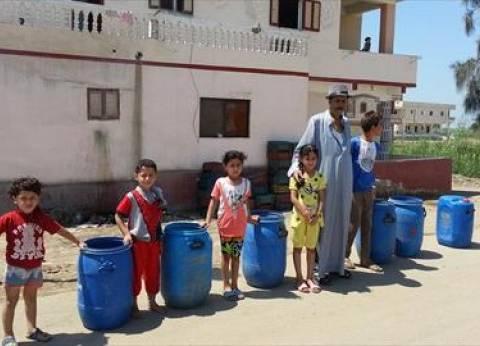 استمرار أزمة نقص المياه بأسوان لليوم الثالث على التوالي